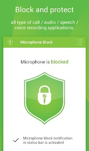 Mic Block - Anti spy & malware Screenshot 6