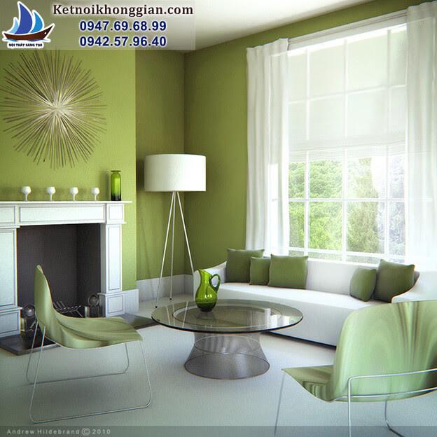 thiết kế nội thất nhà chuẩn mực