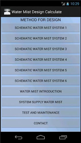 Download Water Mist Design Calculate Apk Latest Version 1 0 For Android Devices