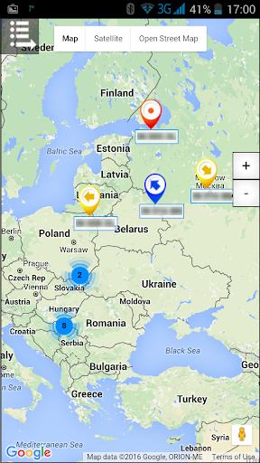 GPS Tragau010d  screenshots 1