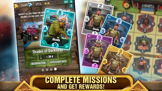 Tribal Battlefield: Combat Strategy and Cards Screenshot