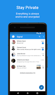 Signal – Sicherer Messenger Screenshot