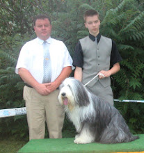 Photo: Club Show Nitra, SK 1st place Junior Handling judge: Mr. Andras Koros/H Friday, June 6, 2003