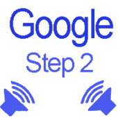Speak code for Google 2-step