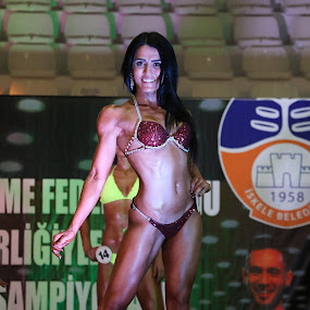 female fitness by Berkan Felek - Sports & Fitness Fitness ( ladies champion fitness )
