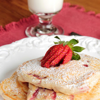 Strawberry Pancakes.