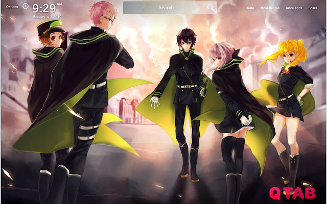 Seraph Of The End Wallpapers Fullhd New Tab