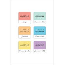 Altenew Dye Inks 6 Mini Cube Set - Soft Pastel