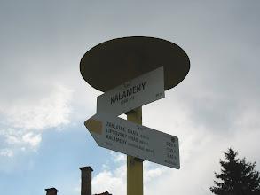 Photo: 01.Miejscowość Kalameny-początek szlaku. Krótki deszczyk przeczekujemy w miejscowej knajpie.