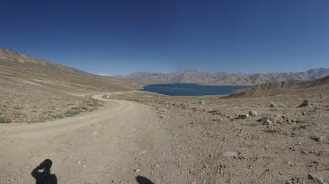 Der Yashilkul liegt in 3750 m Höhe.