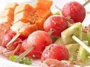 Mexican Mojito Melon Kabobs Recipe