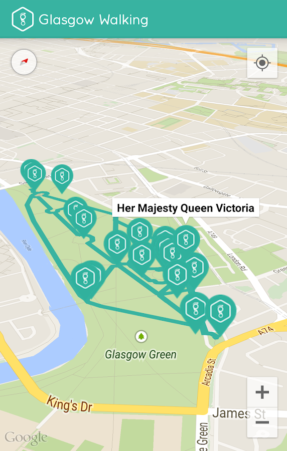 Glasgow Walking- screenshot