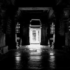 Gateway by Dhruva Chandramouli - Landscapes Travel ( temple, gateway, door )