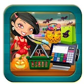Halloween Supermarket Party Shopping - Cash Games