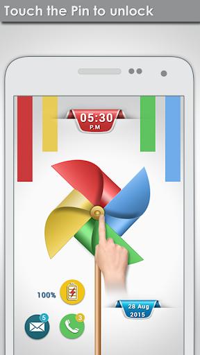 無料个人化Appの風車画面のロック|記事Game