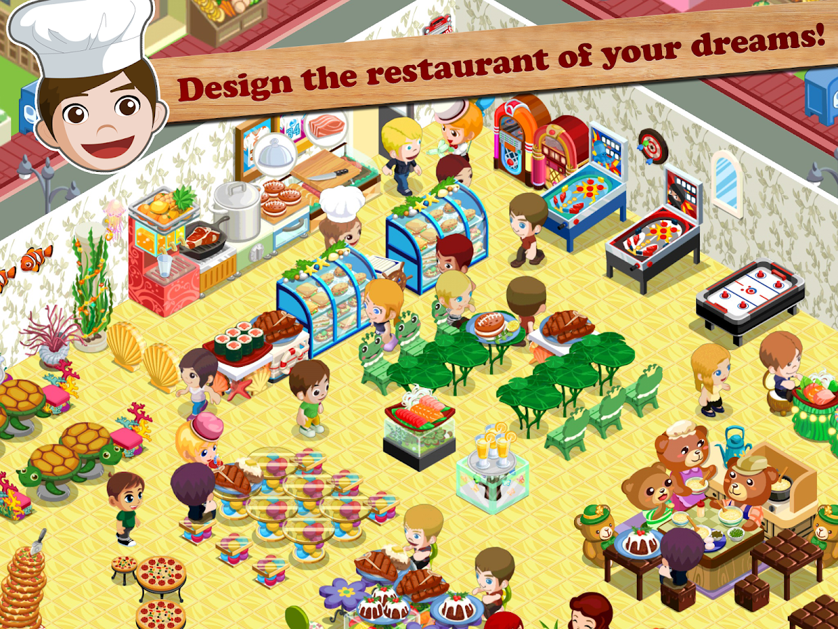 Home Design Game Storm8 Restaurant Story Android Apps On Google Play