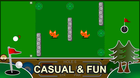 Mini Arcade Golf: Pocket Tours Screenshot