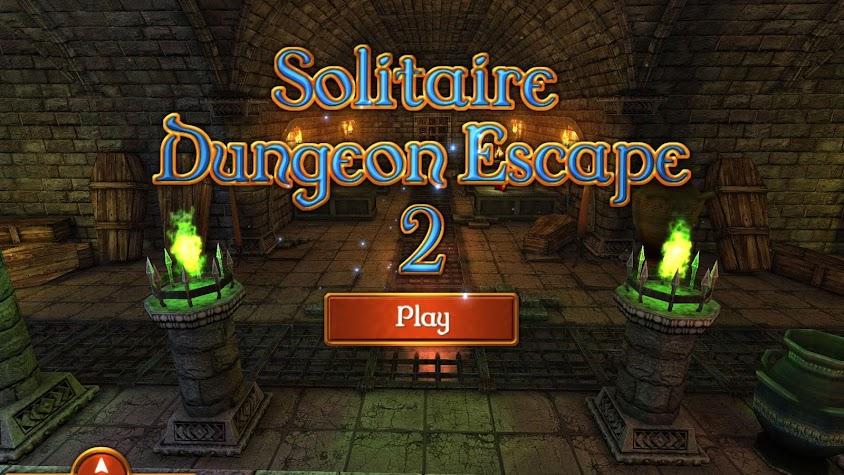 Solitaire Dungeon Escape 2 Screenshot