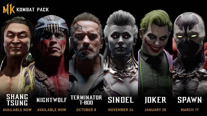 MK11 DLC Reveals Old and New Characters