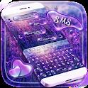 SMS Shimmer Lavender Keyboard icon