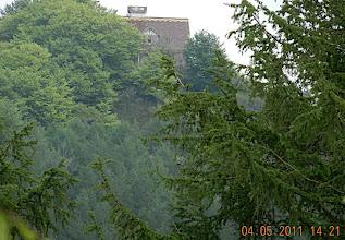 Photo: 14h22- en haut du Paretazar-800m, avec le palais dans le dos