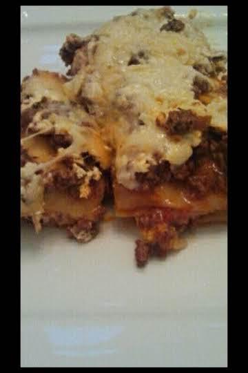 Lilian's Cheesy Lasagna
