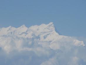 Photo: arrivée sur Kathmandou