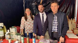 Desde su stand en el Día del Tomate, Castillo de Tabernas dio a conocer sus tres variedades de Aceite Virgen Extra a todos los almerienses.