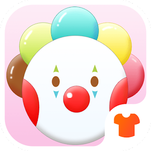 Pink Theme for Love - Clown Wallpaper & Icon Pack Icon