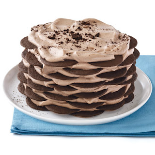 No-Bake Hot Cocoa Cake