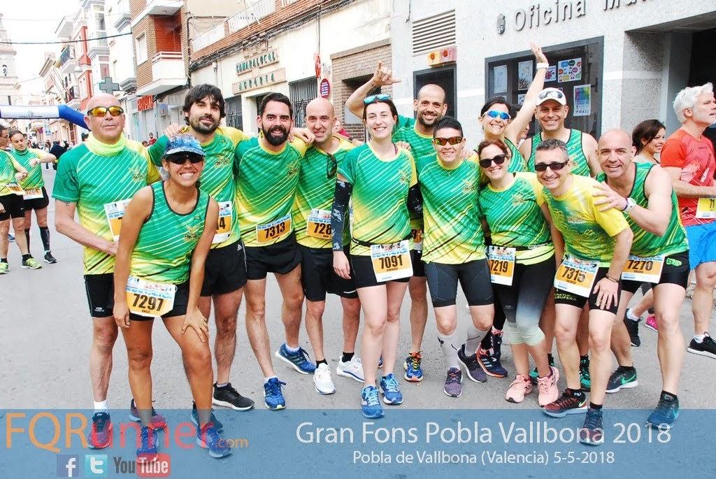 Fotos XVIII Gran Fons Pobla de Vallbona 2018
