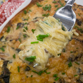 Creamy Baked Spaghetti Squash Recipe