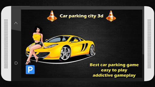 Car parking city drive 3d