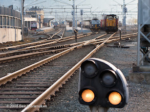 Photo: Shifting freight cars at Trondheim st.