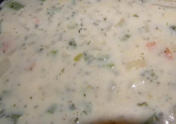 Healthy Potato Vegetable Soup Recipe