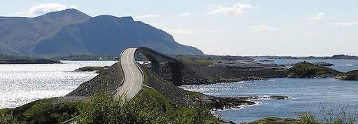 Norvege à moto