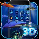 3D Ocean Aquarium Dynamic Fish Theme Skin Icon