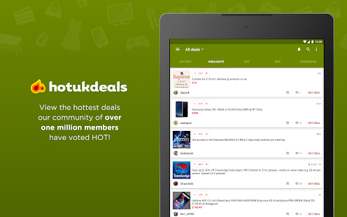 HotUKDeals - Deals & Voucher Codes- screenshot thumbnail