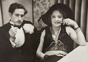 Photo: Joseph Von Sternberg com Marlene Dietrich.  http://filmesclassicos.podbean.com