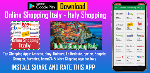 big sale ac8cd 8be33 Online Shopping Italy - Italy Shopping - Apps on Google Play