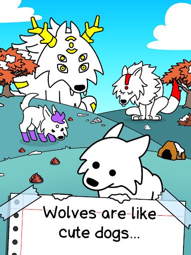 Wolf Evolution - Merge and Create Mutant Wild Dogs 1.0.1 screenshots 9