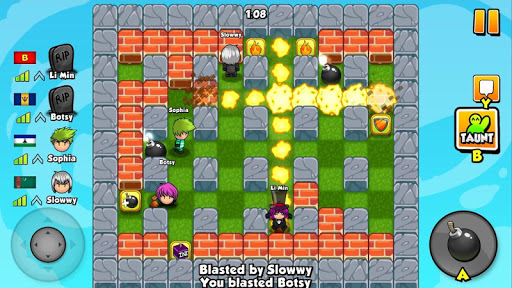 (APK) تحميل لالروبوت / PC Bomber Friends ألعاب screenshot