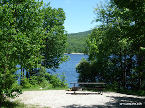 Photo: Waterview site at Stillwater State Park
