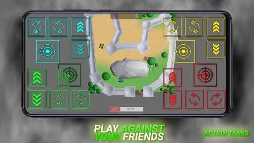 Action Tanks: jeu de chars pour 2 à 4 joueurs APK MOD – ressources Illimitées (Astuce) screenshots hack proof 1