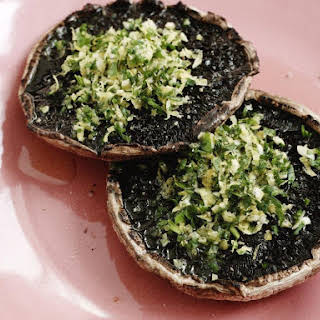 Grilled Mushrooms with Gremolata.