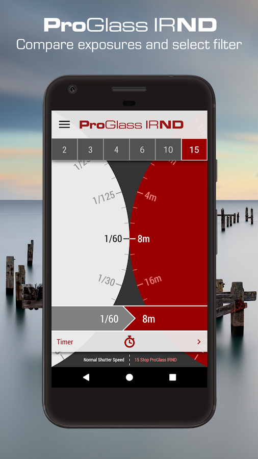 LEE Filters - ProGlass IRND Exposure Guide- screenshot