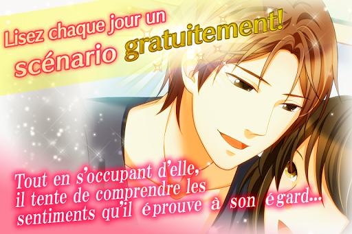 Otome games(jeux) en franu00e7ais - L'Amour Interdit  captures d'u00e9cran 2
