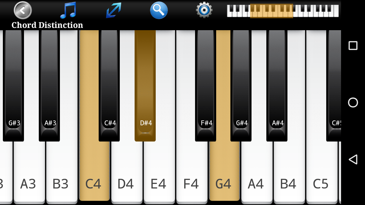 Piano ear training free android apps on google play piano ear training free screenshot hexwebz Image collections