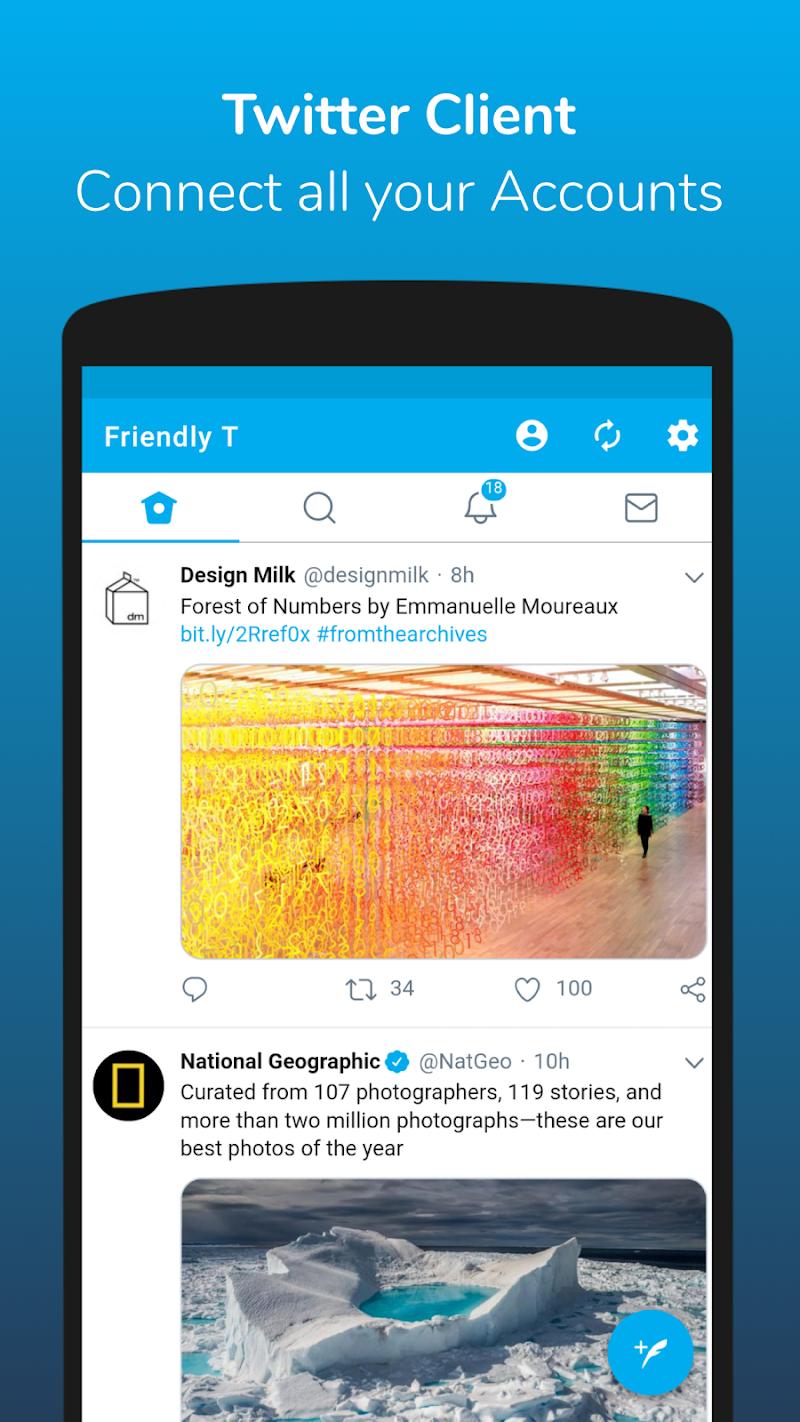Friendly For Twitter v3.2.5 build 168 [Premium Mod] AOSP APK [Latest]