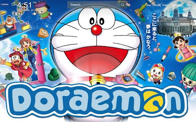 Doraemon Wallpapers Theme New Tab